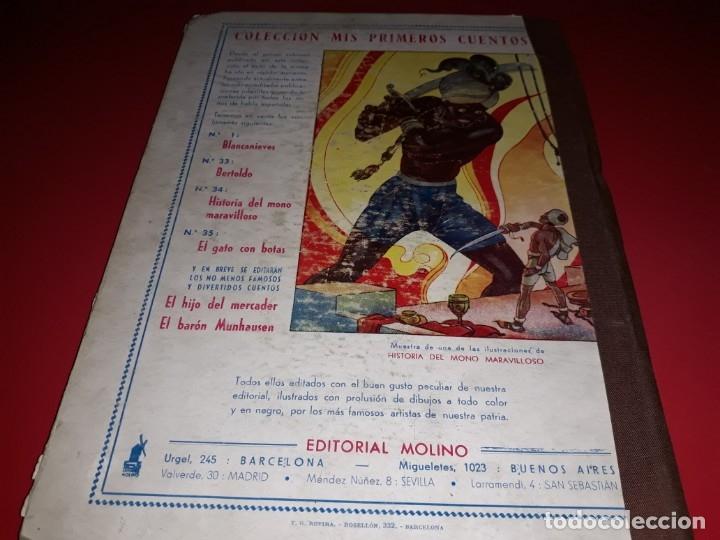 Libros de segunda mano: Cuentos de Hadas de Andersen ilustraciones de A. Coll Editorial molino 1942 - Foto 5 - 175960235