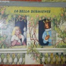 Libros de segunda mano: LA BELLA DURMIENTE. 1966. ESPECTACULAR CUENTO CON POP-UP Y DIBUJOS MOVILES. KUBASTA Y BANCROFT. Lote 176133107