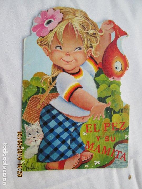 EL PEZ Y SU MAMITA - CUENTO TROQUELADO SERIE MAGDA Nº 9 - EDITORIAL GOYA 1970. (Libros de Segunda Mano - Literatura Infantil y Juvenil - Cuentos)