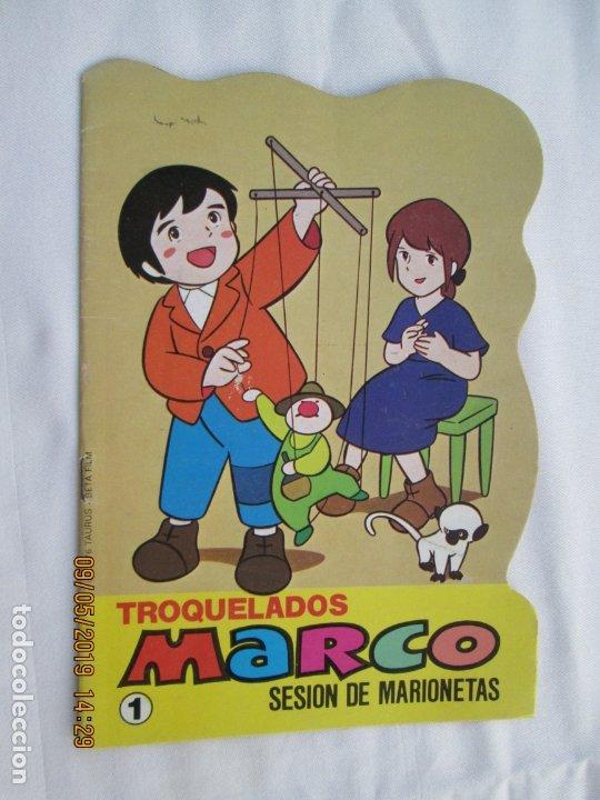 TROQUELADOS MARCO Nº 1 - SESIÓN DE MARIONETAS - BRUGUERA 1976. (Libros de Segunda Mano - Literatura Infantil y Juvenil - Cuentos)