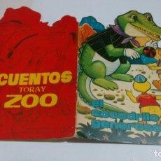 Libros de segunda mano: CUENTO TROQUELADO INFANTIL - COLECCION CUENTOS TORAY SERIE ZOO -. Lote 176347435