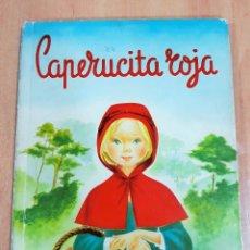 Libros de segunda mano: CAPERUCITA ROJA. CHARLES PERRAULT. EDIT CERVANTES. 1962. W. Lote 176409667