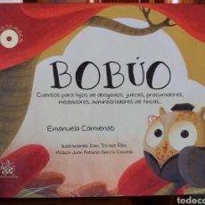 Libros de segunda mano: BOBÚO. CUENTOS INFANTILES. INCLUYE CD. ED TIRANT LO BLANC. TAPA DURA 106 PP. Lote 176567840