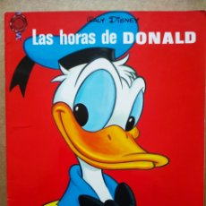 Livres d'occasion: LAS HORAS DE DONALD (CUENTOS FHER, 1969). COLECCIÓN FANTASÍA INFANTIL. WALT DISNEY.. Lote 176823770