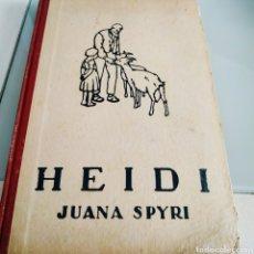 Libros de segunda mano: HEIDI JUANA SPYRI. Lote 177123024