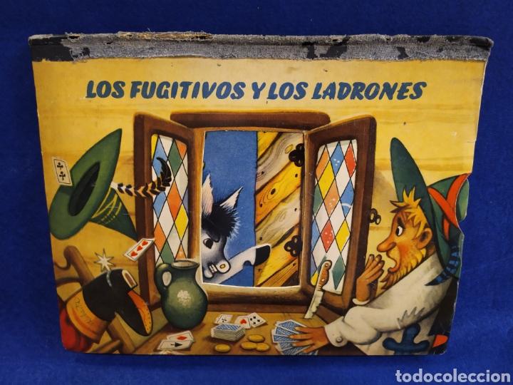 LOS FUGITIVOS Y LOS LADRONES. CUENTO TROQUELADO, POP UP, DIORAMA. 1966 (Libros de Segunda Mano - Literatura Infantil y Juvenil - Cuentos)