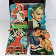 Libros de segunda mano: EDITORIAL FHER. LOTE DE 4 CUENTOS. BILBAO. 1961/1963.. Lote 177396024