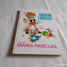 Libros de segunda mano: CUENTOS FAMOSOS MARÍA PASCUAL. Lote 177458588