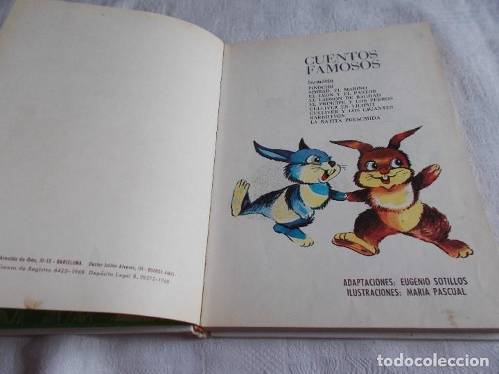 Libros de segunda mano: CUENTOS FAMOSOS María Pascual - Foto 4 - 177458588