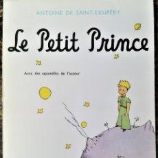 Libros de segunda mano: LIBRO-EL PRINCIPITO- LE PETIT PRINCE EN FRANCES, AÑO 1966,DE ANTOINE DE SANT EXUPERY,CASI COMO NUEVO. Lote 177665408