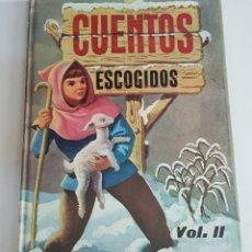 Libros de segunda mano: CUENTOS ESCOGIDOS VOLUMEN II - TDK100. Lote 177749190