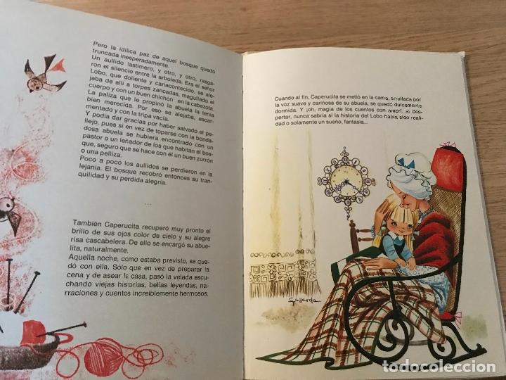 Libros de segunda mano: CAPERUCITA ROJA COLECCION ALHELI PERRAULT - Foto 5 - 177771588