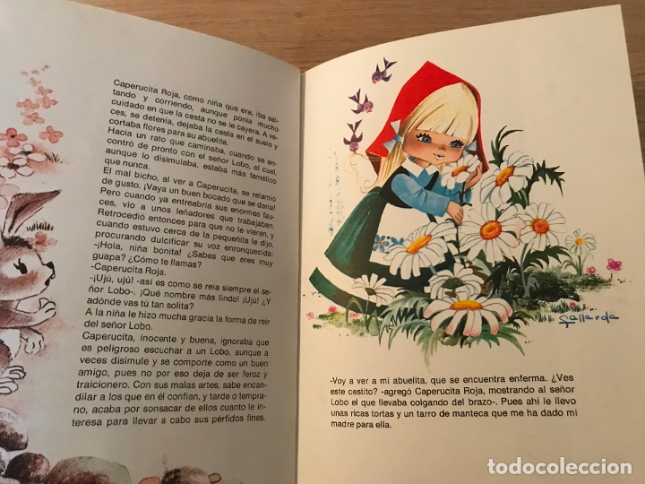 Libros de segunda mano: CAPERUCITA ROJA COLECCION ALHELI PERRAULT - Foto 6 - 177771588