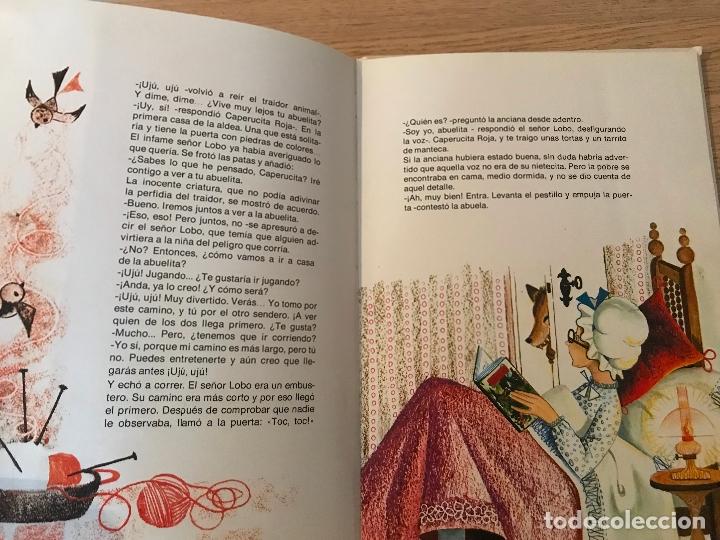 Libros de segunda mano: CAPERUCITA ROJA COLECCION ALHELI PERRAULT - Foto 7 - 177771588