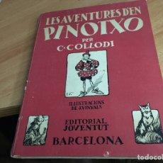 Libros de segunda mano: LES AVENTURES D'EN PINOTXO C. COLLODI (IL.LUSTRACIONS VINYALS) ED. 1981 (LB39). Lote 177957275