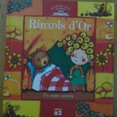 Libros de segunda mano: RINXOLS D'OR. UN CONTE ESCOCES. EDICIONS 62. 9 ELS NOSTRES CONTES IL·LUSTRATS. DEBIBL. Lote 178020715