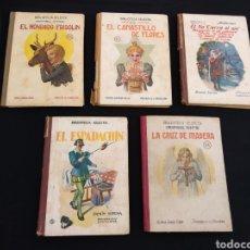Libros de segunda mano: LOTE 5 LIBROS BIBLIOTECA SELECTA AÑOS 30/40. Lote 178172427