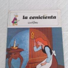 Libros de segunda mano: LA CENICIENTA. COLECCIÓN CUENTOS DISNEY. LIBRO. Lote 178664340