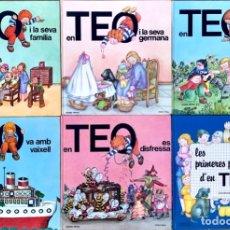 Libros de segunda mano: LOTE 6 LIBROS EN TEO (CATALAN) - EN TEO I EL SEU GOS, EN TEO ES DISFRESSA.... Lote 178878908