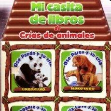 Libros de segunda mano: MI CASITA DE LIBROS DE CRIAS DE ANIMALES. VV.AA.. INFA-027. Lote 178944812