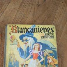 Libros de segunda mano: BLANCANIEVES Y LOS SIETE ENANOS. Lote 179085273