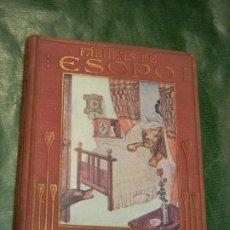 Libros de segunda mano: FABULAS DE ESOPO RELATADAS A LOS NIÑOS, ILUSTR. A.SALO, ED.ARALUCE 1941. Lote 179103601