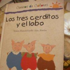 Libros de segunda mano: LOS TRES CERDITOS Y EL LOBO. Lote 179109268