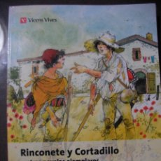 Libros de segunda mano: RINCONETE Y CORTADILLO - CERVANTES. Lote 179109410