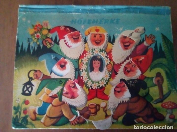 BONITO PO-UP HOFEHERKE BLANCANIEVES V. KUBASTA ARTIA 1961 PRAGUE EN CHECOSLOVACO (Libros de Segunda Mano - Literatura Infantil y Juvenil - Cuentos)