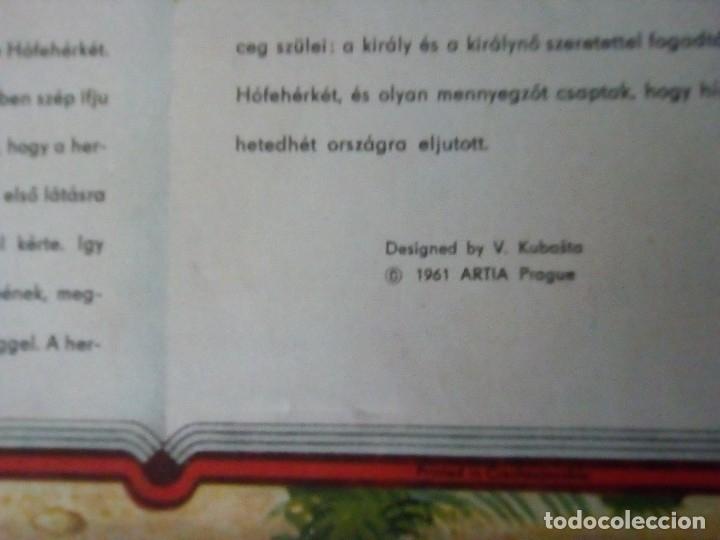 Libros de segunda mano: BONITO PO-UP HOFEHERKE BLANCANIEVES V. KUBASTA ARTIA 1961 PRAGUE EN CHECOSLOVACO - Foto 11 - 179174285