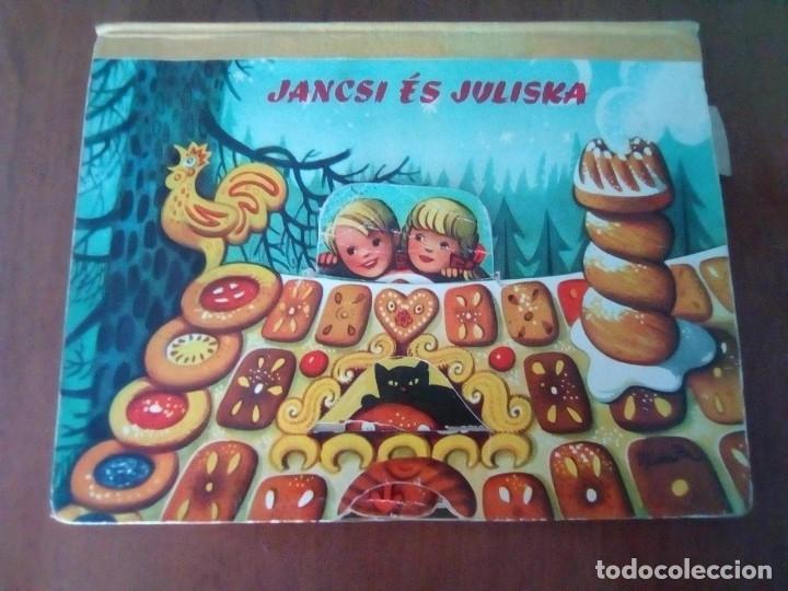 BONITO PO-UP JANCSI ES JULISKA HANSEL Y GRETEL V. KUBASTA ARTIA 1974 PRAGUE EN CHECOSLOVACO (Libros de Segunda Mano - Literatura Infantil y Juvenil - Cuentos)