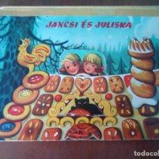 Libros de segunda mano: BONITO PO-UP JANCSI ES JULISKA HANSEL Y GRETEL V. KUBASTA ARTIA 1974 PRAGUE EN CHECOSLOVACO. Lote 179174728