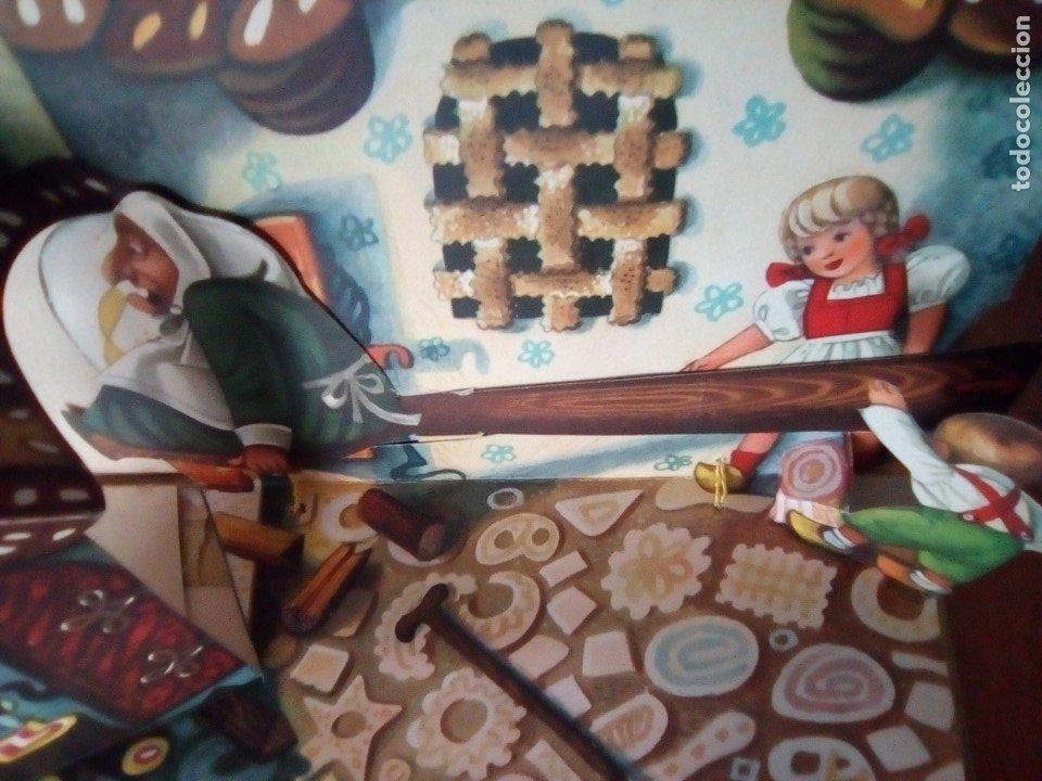 Libros de segunda mano: BONITO PO-UP JANCSI ES JULISKA HANSEL Y GRETEL V. KUBASTA ARTIA 1974 PRAGUE EN CHECOSLOVACO - Foto 5 - 179174728