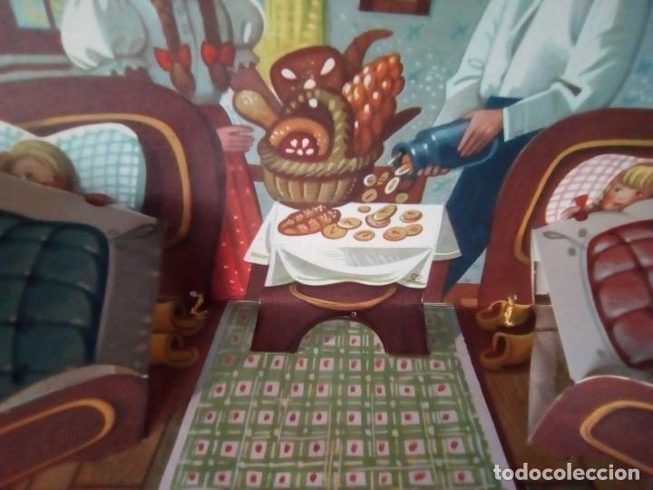 Libros de segunda mano: BONITO PO-UP JANCSI ES JULISKA HANSEL Y GRETEL V. KUBASTA ARTIA 1974 PRAGUE EN CHECOSLOVACO - Foto 7 - 179174728