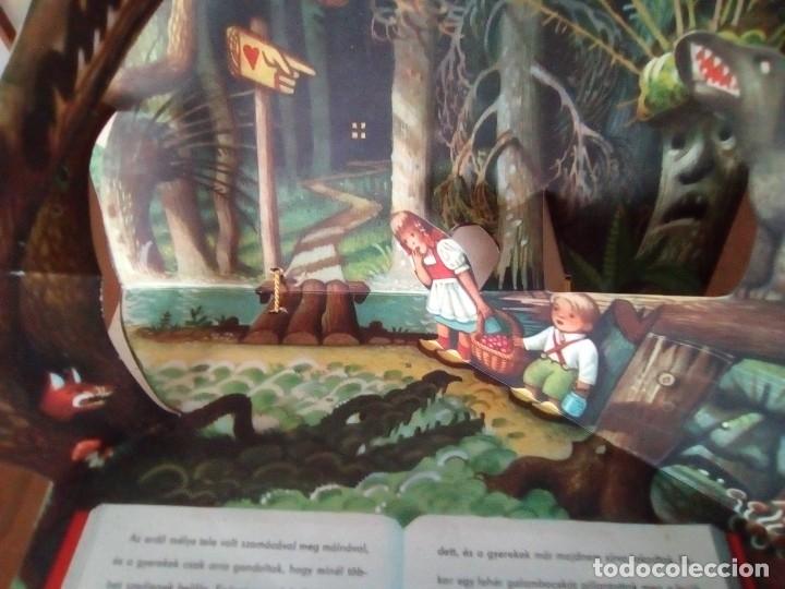 Libros de segunda mano: BONITO PO-UP JANCSI ES JULISKA HANSEL Y GRETEL V. KUBASTA ARTIA 1974 PRAGUE EN CHECOSLOVACO - Foto 10 - 179174728