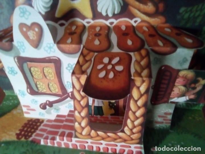 Libros de segunda mano: BONITO PO-UP JANCSI ES JULISKA HANSEL Y GRETEL V. KUBASTA ARTIA 1974 PRAGUE EN CHECOSLOVACO - Foto 9 - 179174728