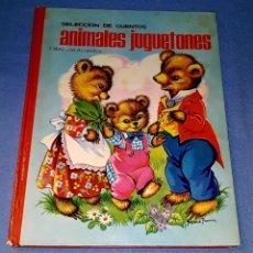 Libros de segunda mano: SELECCION DE CUENTOS ANIMALES JUGUETONES EDITORIAL ROMA 1ª EDICION AÑO 1966. Lote 179179240