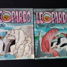 Libros de segunda mano: LOTE 2 CUENTOS LEOPARDO 1981. Lote 179383853