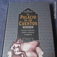 Libros de segunda mano: EL PALACIO DE LOS CUENTOS- JUNIO- CIRCULO DE LECTORES. Lote 180118546