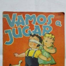 Libros de segunda mano: VAMOS A JUGAR, RODOLFO DAN, AÑO 1948, EDITORIAL SIGMAR, MEDIDAS 26 X 37 CM. Lote 180188000