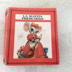 Libros de segunda mano: CUENTO LA RATITA PRESUMIDA COLECCIÓN SALDAÑA AÑOS 80. Lote 180269526