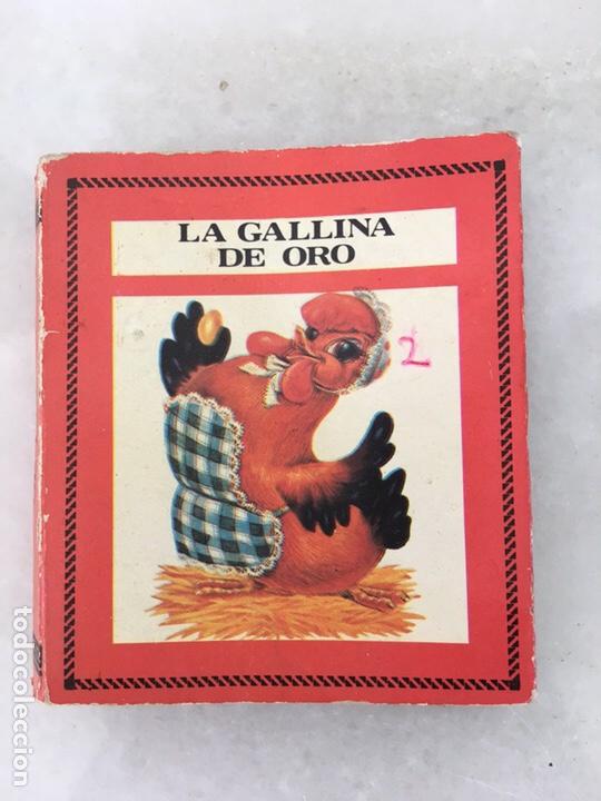 CUENTO LA GALLINA DE LOS HUEVOS DE ORO COLECCIÓN SALDAÑA AÑOS 80 (Libros de Segunda Mano - Literatura Infantil y Juvenil - Cuentos)