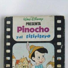 Libros de segunda mano: DISNEY PRESENTA PINOCHO Y EL TITIRITERO. Lote 180288080