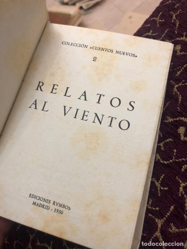Libros de segunda mano: Relatos al viento. Colección cuentos nuevos 2. Manuel Pareja Flamán (dir) 1950 - Foto 4 - 180289722
