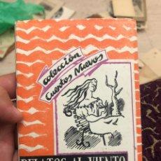 Libros de segunda mano: RELATOS AL VIENTO. COLECCIÓN CUENTOS NUEVOS 2. MANUEL PAREJA FLAMÁN (DIR) 1950. Lote 180289722