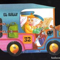Libros de segunda mano: EL RALLY · 8 PÁGINAS - EDICIONES A. SALDAÑA, 1985 - VOLUMEN Nº 1 DE LA COLECCIÓN ''CARRUSEL''. Lote 180400471