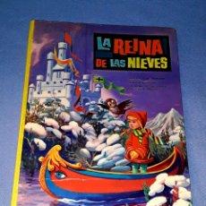 Libros de segunda mano: LA REINA DE LAS NIEVES COLECCION AURORA EDITORIAL VASCO AMERICANA AÑO 1966 ORIGINAL. Lote 180472755