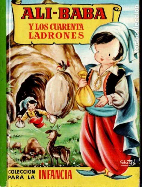ALÍ BABÁ Y LOS CUARENTA LADRONES - BRUGUERA INFANCIA, 1958 (Libros de Segunda Mano - Literatura Infantil y Juvenil - Cuentos)