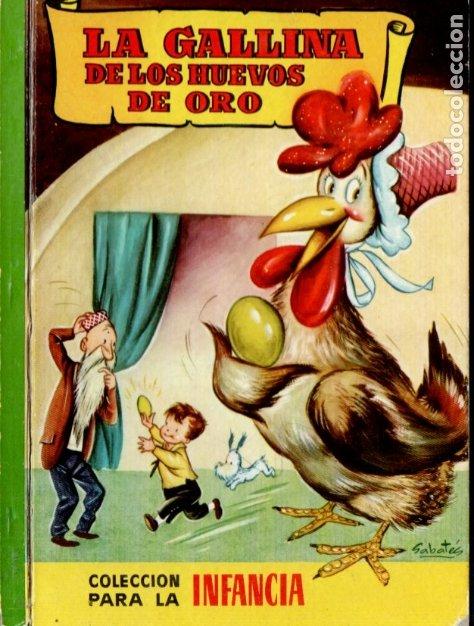 LA GALLINA DE LOS HUEVOS DE ORO - BRUGUERA INFANCIA, 1959 (Libros de Segunda Mano - Literatura Infantil y Juvenil - Cuentos)