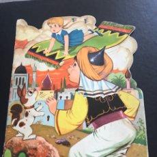 Libros de segunda mano: CUENTO TROQUELADO - LA ALFOMBRA VOLADORA. Lote 181130805